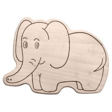 Kinderbrettchen,Elefant
