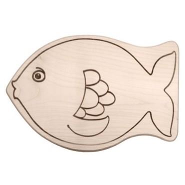 Kinderbrettchen Fisch