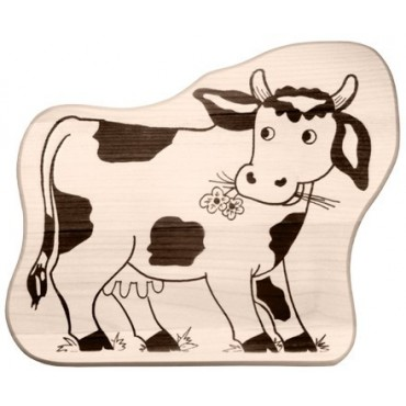 Kinderbrettchen Kuh