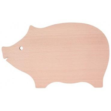 Servierbrett Schwein